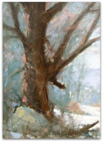 Artist Trading Card - ATC - of The Dappled Maple