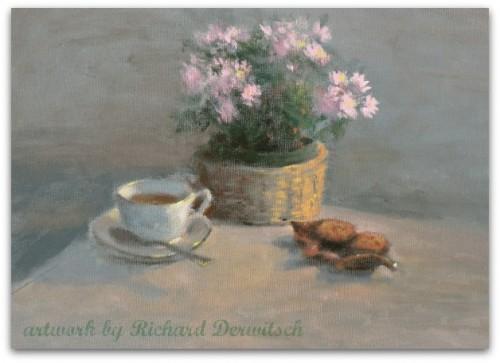 Tea and Cookies - Giclee Print