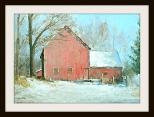 Giclee Print of Parker Hill Farm