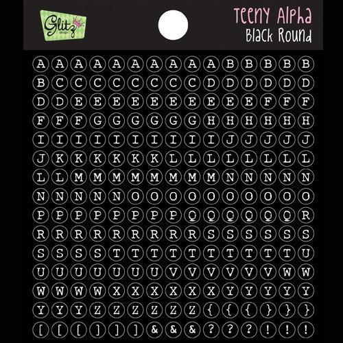 Glitz Design Teeny Alpha Black