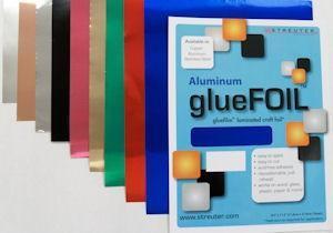 glueFOIL Metallic Gold 4x4
