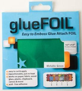 glueFOIL Metallic Green 4x4