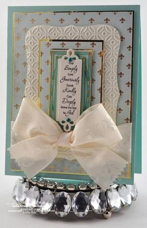 JustRite Stampers- Simple Blessings Cling stamp