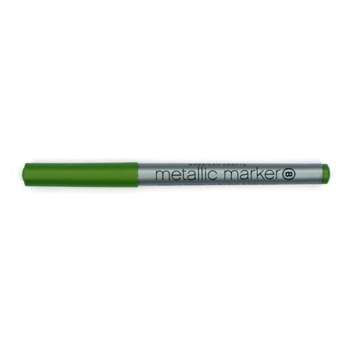 Metallic Marker Green Bold Point