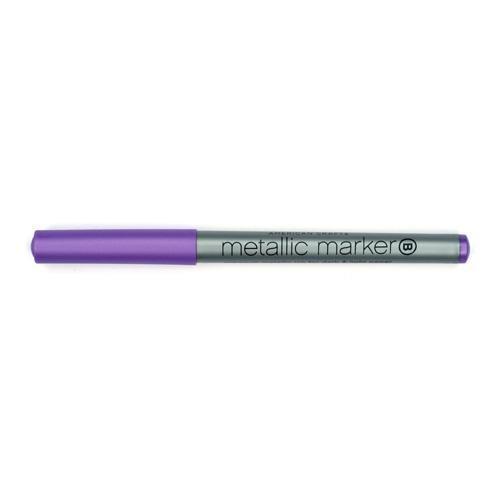 Metallic Marker Violet Broad Point