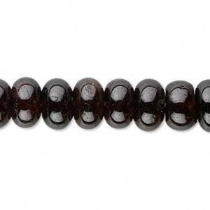 6mm Garnet Rondelle