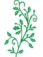 CLD Cutting Die: Holly Leaf Flourish