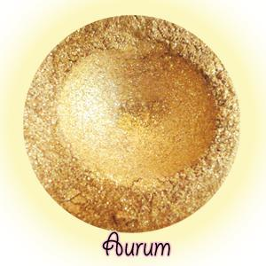 Aurum Eyeshadow Jar - Heart of Gold