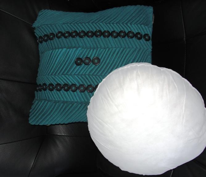 Custom sized pillow insert
