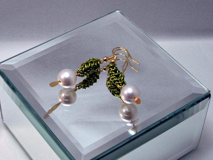 Desiree Chainmail Earrings