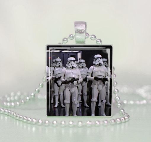 Star Wars StormTroopers Scrabble Tile Pendant Necklace