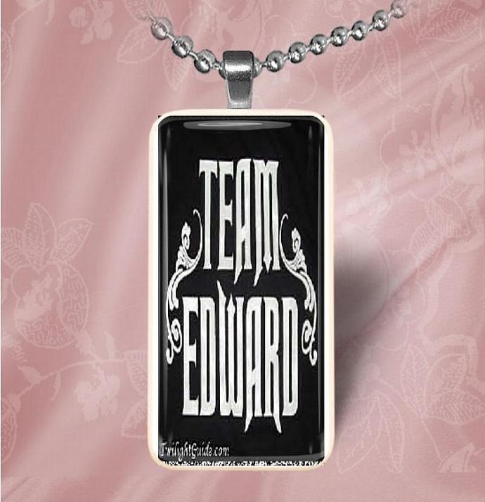 Team Edward Domino Pendant
