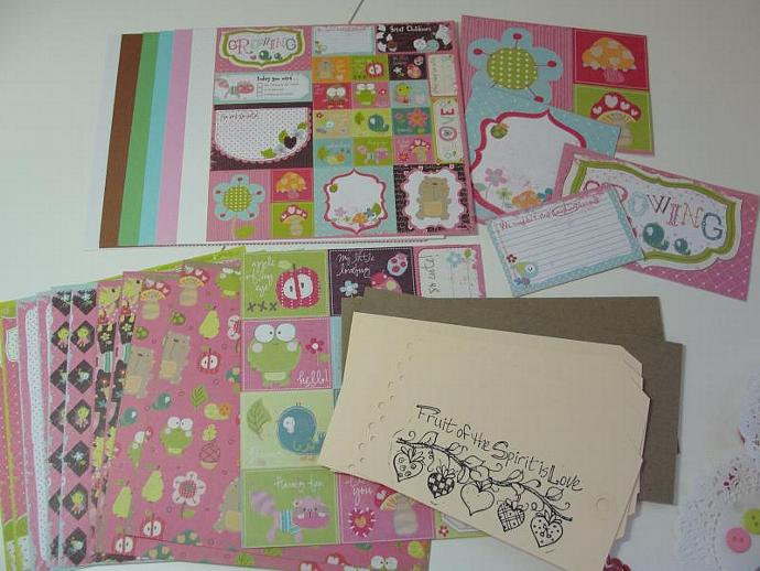 Just A Girl! Self Made Envelope Pocket Mini Album Kit