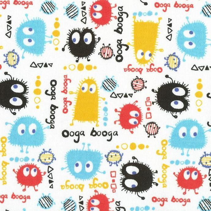 FALLFEST Ooga Booga, Cotton Interlock Knit