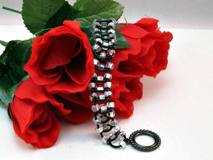 Smoke & Mirrors Chainmail Bracelet