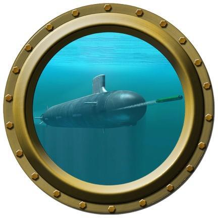 Submarine Porthole Wall Decal