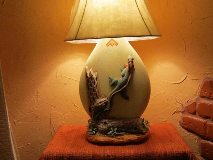 E-LNT-19 - BEARDED DRAGON LAMP