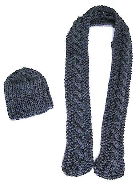 Thick & Warm Winter Hat & Scarf Set Custom Made for You