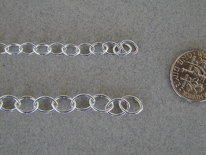 SS Oval Chain Bracelet