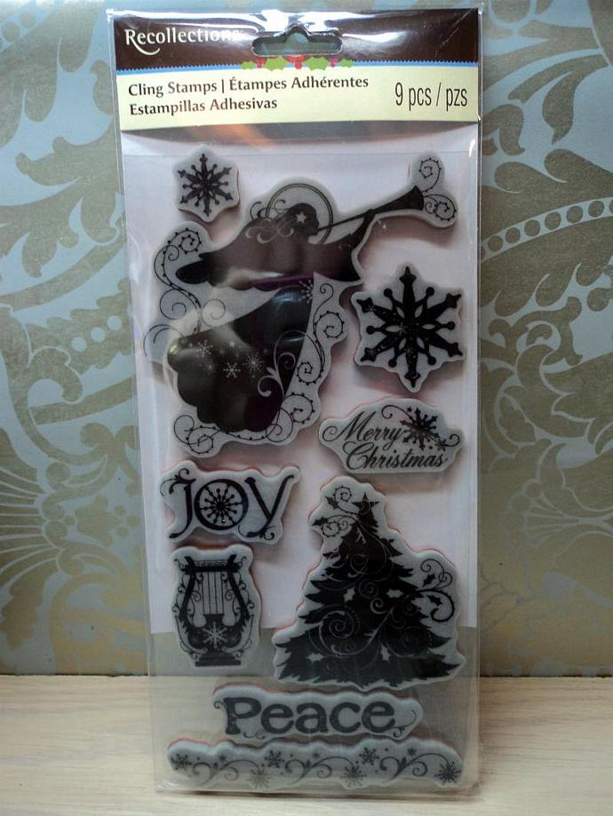 Recollections Christmas Stamp Set- Religious Angel