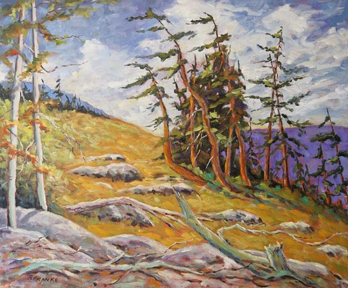 Mountain Top  by Prankearts