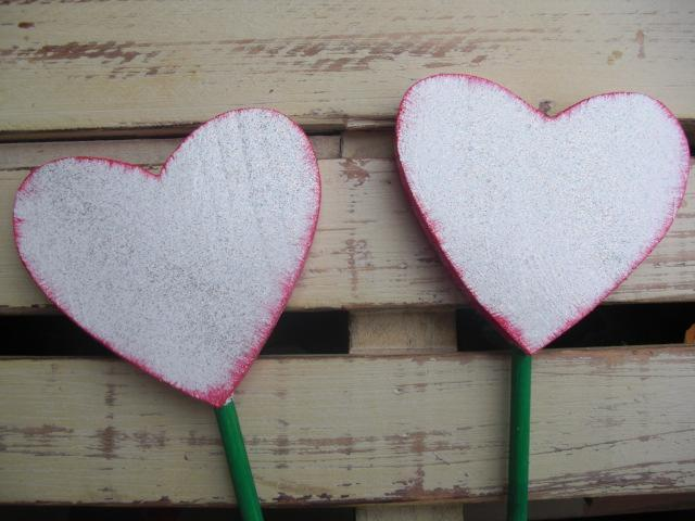 Heart Plant Stakes