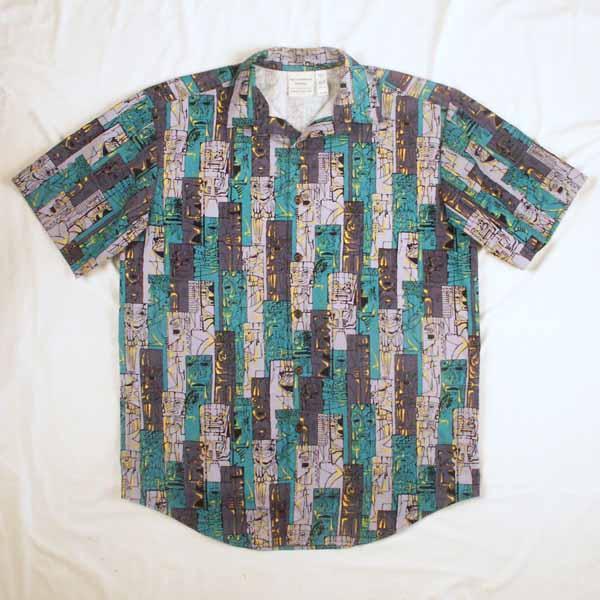 Tiki Aloha Shirt - Size M