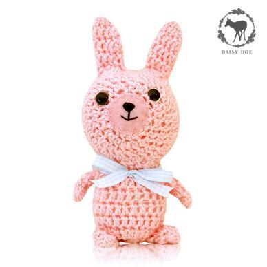 Pink Bunny Rabbit (Crochet Soft Toy)