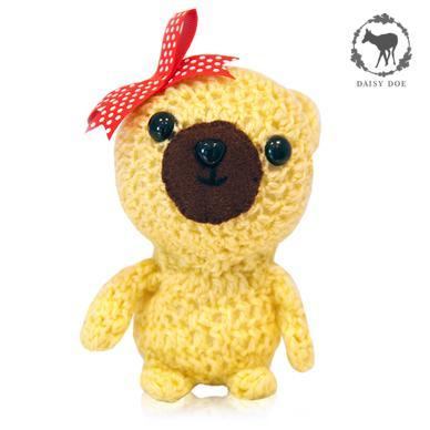Yellow Teddy Bear (Crochet Soft Toy)