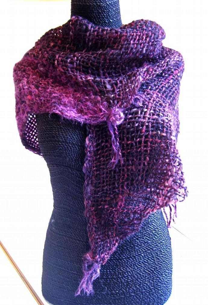 Purple and Violet Shoulder Wrap