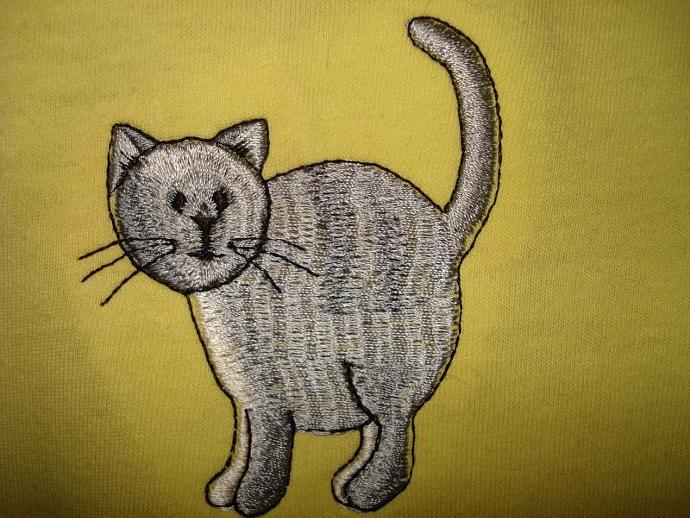 Three Little Kittens - Yellow T-Shirt Youth Large