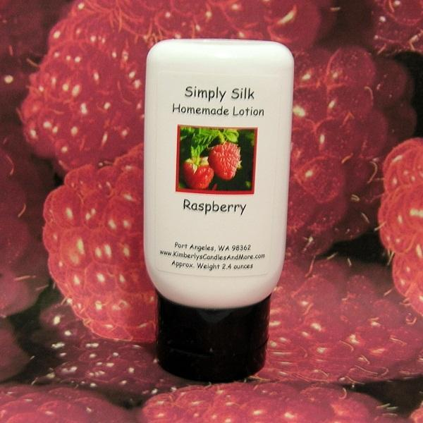 Raspberry Simply Silk Lotion (6 oz.)