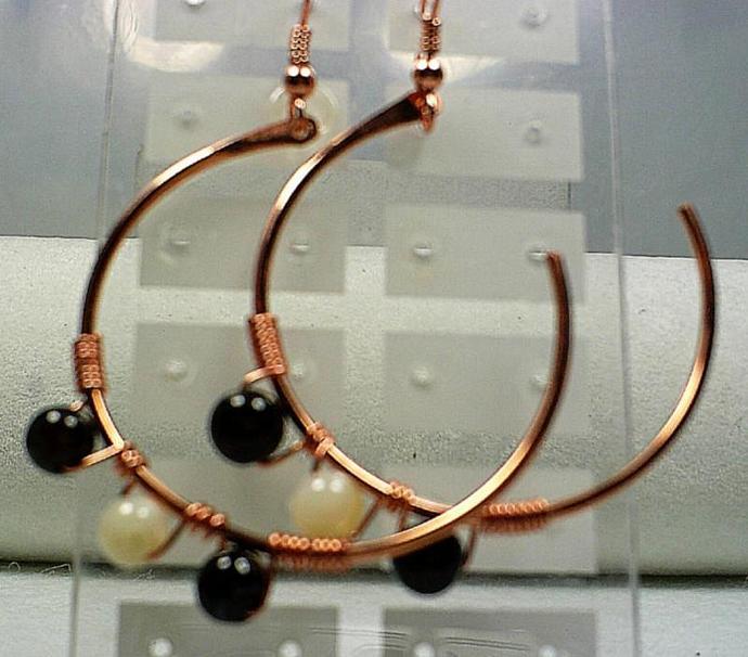 Copper Earrings-Item # 0028