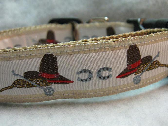 Wild West  1 Inch Designer  Collar