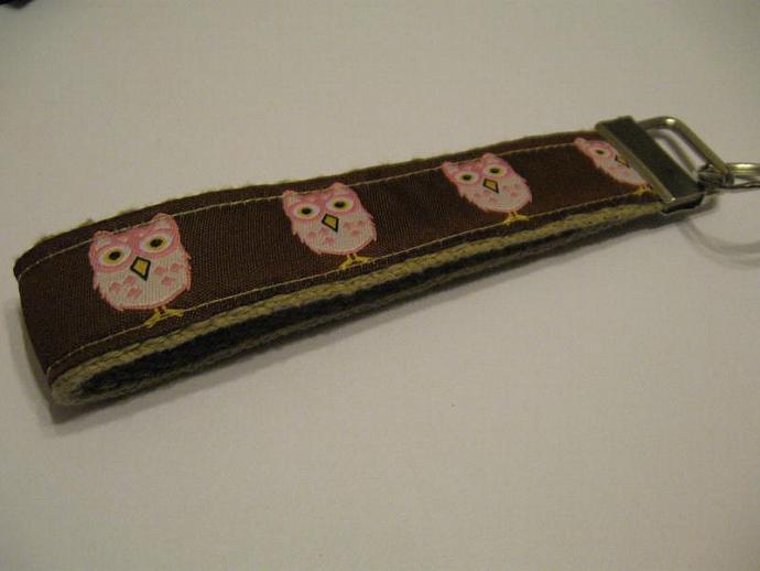 Mod Owls Wristlet Keyfob