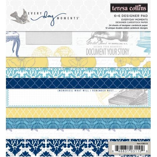 Teresa Collins - Everyday Moments Paper Pad (6x6)