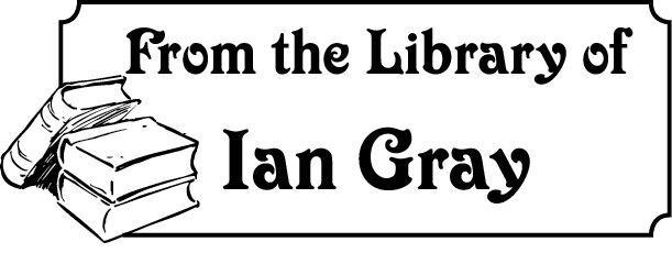 Teacher Gift  From the Library of ... Custom  Rubber Stamp