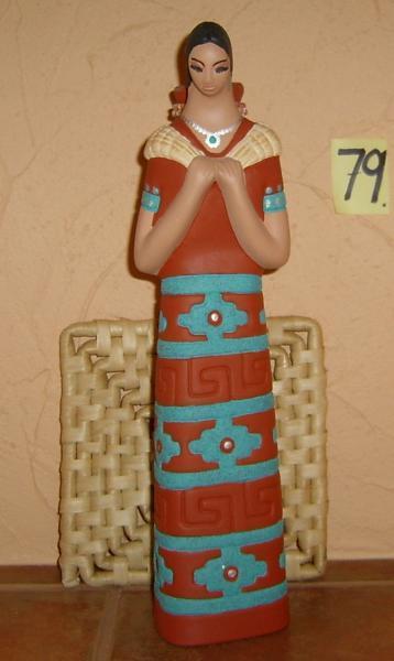 E-M-79 - HOPI WATER GIRL-basket