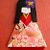 Japanese Paper Origami Doll Hanami