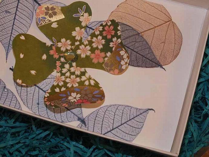 3d flowers card