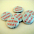 *I'm fasting* Six 1 inch Button Pins