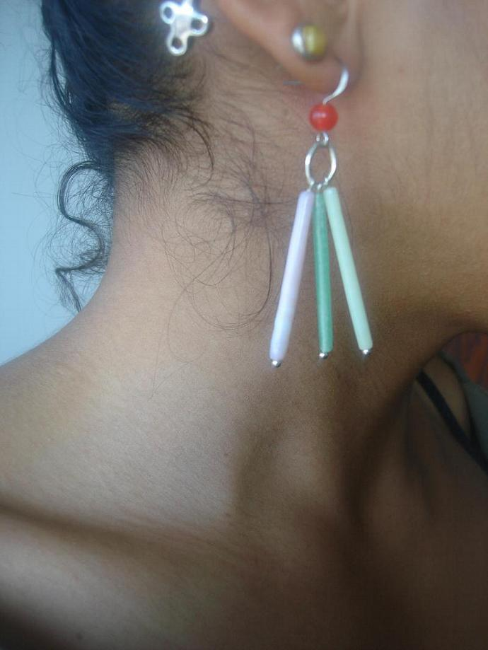 Mulit Colored Earrings