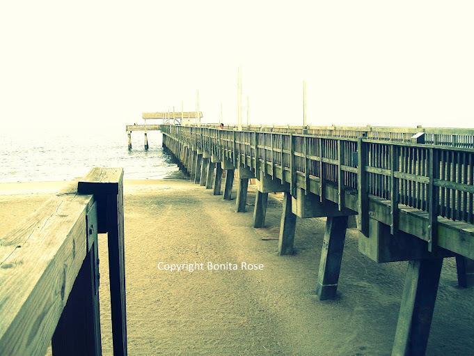 Ocean Photography - Ocean Pier 8x10