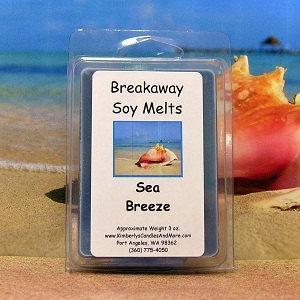 Sea Breeze Breakaway Clamshell Soy Wax Tart Melts