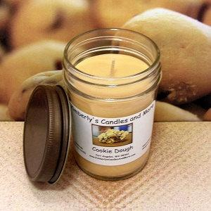 Cookie Dough PURE SOY Jelly Jar Candle