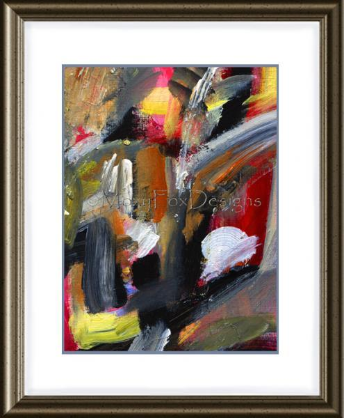 Art - TANGO  ON  Fine Art Print Contemporary Modern Abstract Passionate Sultry