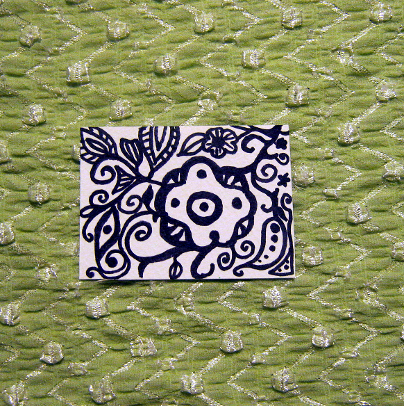 Marker Doodle 1 ACEO