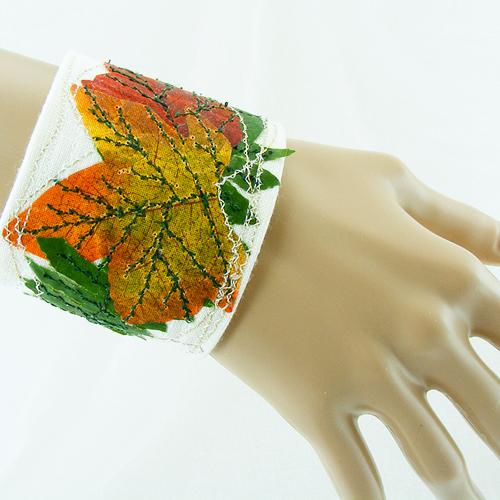 Celebrate Fall Nature Wrist CUFF