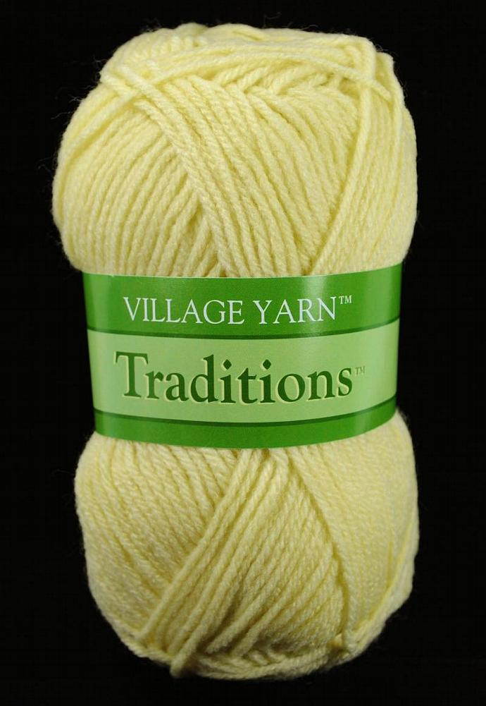 Village Traditions Worsted Weight Yarn - Aran