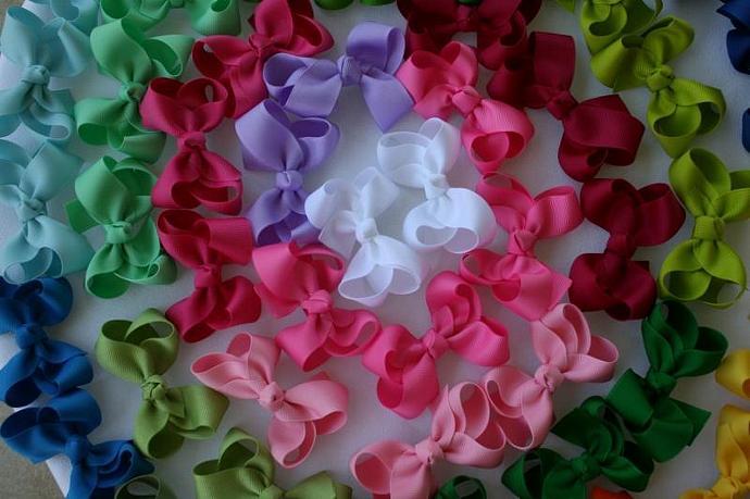 NEW Spring?Summer colors Medium bows